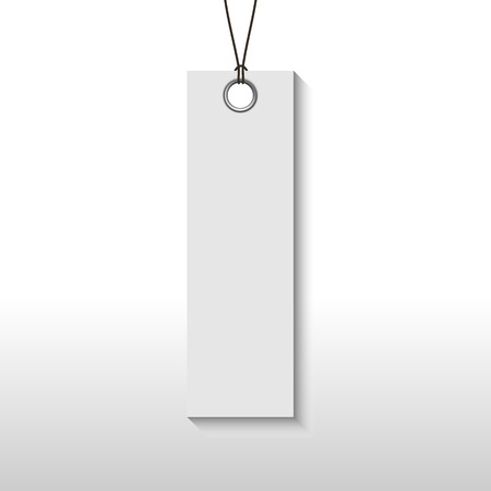 Empty tag banner for information product., Digital code easy pay, Vector, Illustration. Illustration