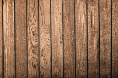 Nature Wood Texture Flooring Background, Wooden Old Surface of Exterior Decoration. Brown Hardwood Backgrounds