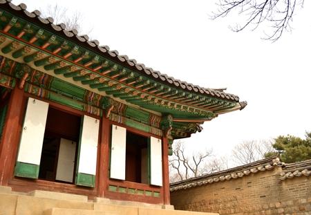 korean style house: Korean ancient building