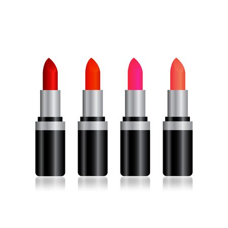 isolation: colorful lipstick isolation for advertisement