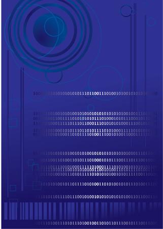 Computer generated digital binary code technology