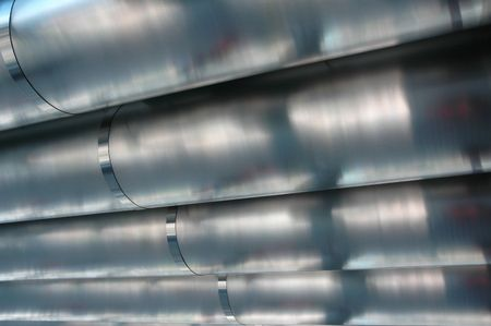 Modern technology and high engineering steel pipelines Stock Photo - 2713337