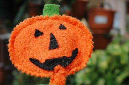 Halloween pumpkin Jack O-lantern decorative cutout outdoor