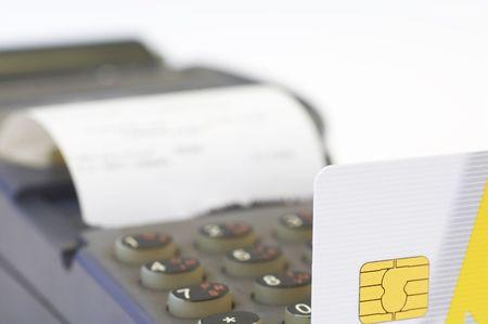 resturant: credit card and remote swiper
