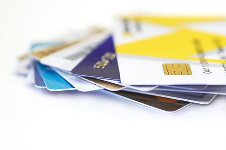 credit cards together Stock Photo - 397878