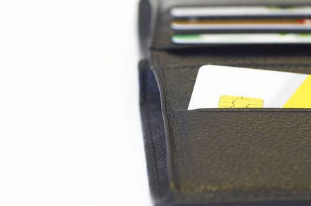 credit card in wallet Stock Photo - 397880