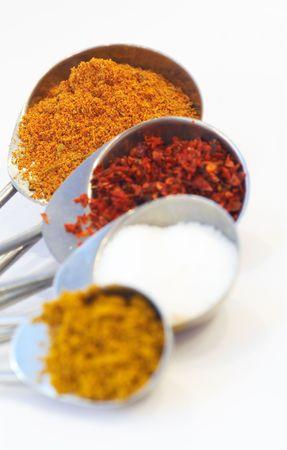 shallow dof: spices, shallow dof
