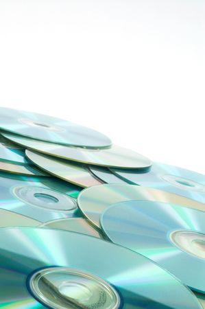 compact discs, space for messages Stock Photo - 397947