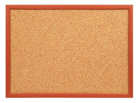 cork board: blank cork board