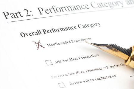 iniciativas: empleado el formulario de rendimiento