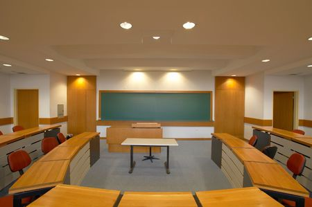 lecture room photo