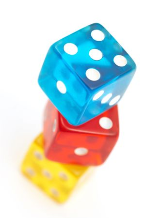 colorful dices photo