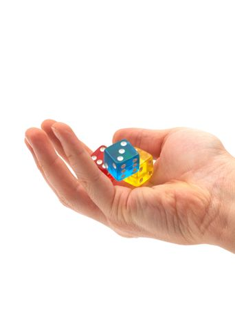 dices in the air Stock Photo - 405725
