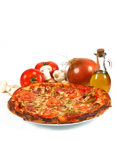 pizza, shallow dof Stock Photo - 405601