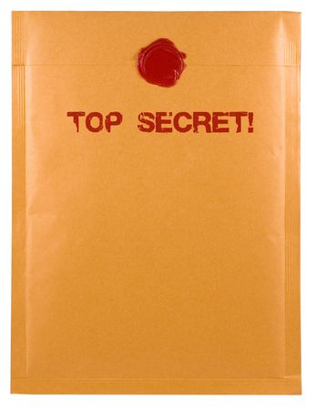 top secret envelope Stock Photo - 405529