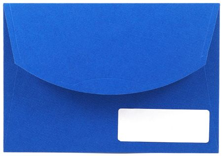 blue envelope Stock Photo - 406704