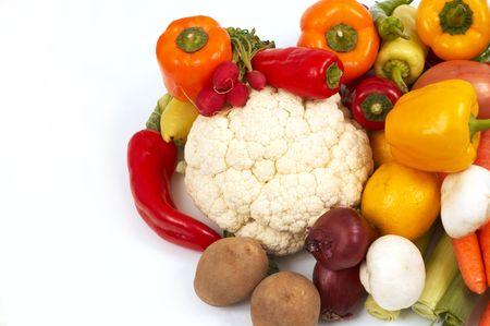 chiles secos: hortalizas Foto de archivo