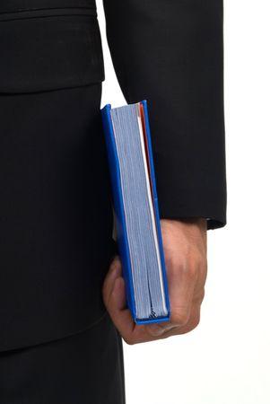 holding book Stock Photo - 494642