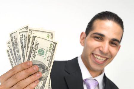 show me the money Stock Photo - 565935