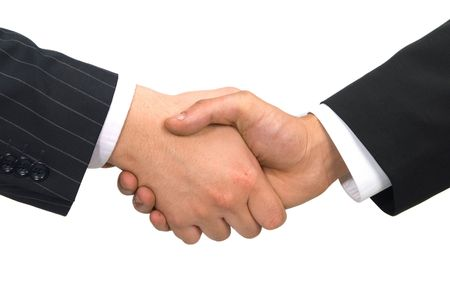 handshake Stock Photo