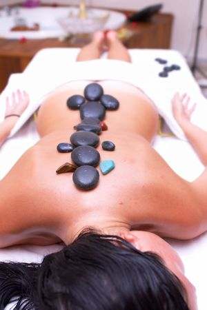 massage time Stock Photo - 594336