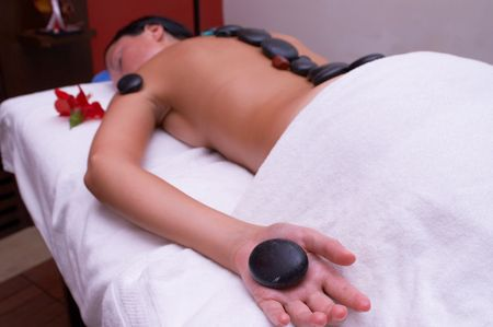 massage time Stock Photo - 594335