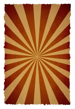 sun burnt: old sunbeam page background for your messages and designs Stock Photo