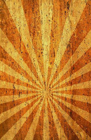 sun burnt: grunge sunbeam backgound for your designs