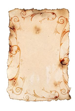 antique paper background for your messages and designs