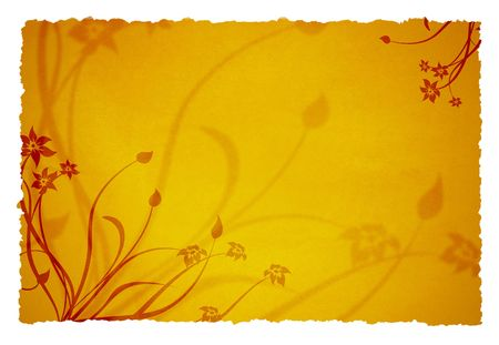 old page ornament background for your messages and designs photo