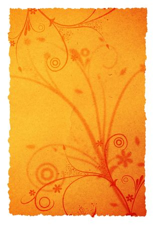old page background with ornament for your messages and designs Stock Photo - 968745
