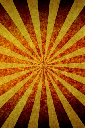 sun burnt: grunge paper background with sunbeam