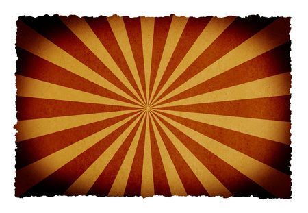 sun burnt: burned paper background with sunbeam for your messages and designs