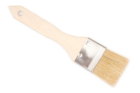 whack: Paint brush isolated on white background