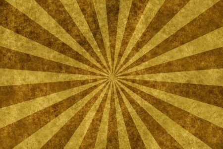 sun burnt: sunbeam on old toned paper background for your messages and designs Stock Photo