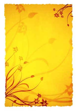 old paper ornament background for your messages and designs photo