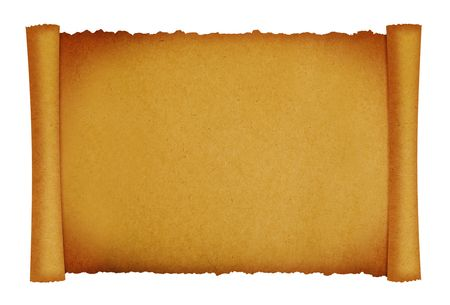 scroll paper texture background with space for designs Stock Photo