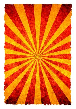 sun burnt: old sunbeam background for your messages and designs