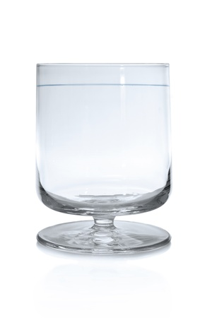 Brandy snifter glass isolated on white background Stock Photo - 8650964