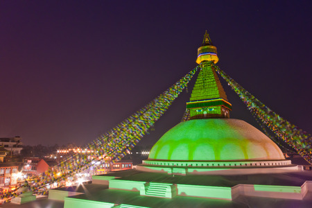 stupa one: Boudhanath Stupa the enormous stupa and one of the iconic structure in Nepal where thousands of pilgrims gather to make a ritual circumnavigation of the dome.