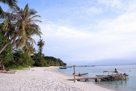 Seaside view at Redang Islang, Malaysia. Stock Photo - 498663