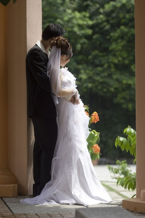 Asian wedding ceremony. Stock Photo
