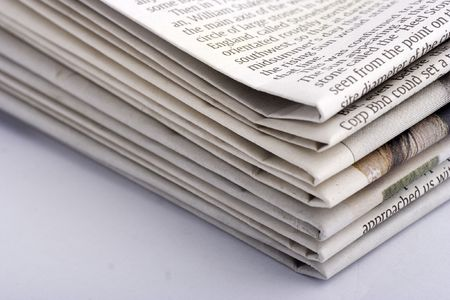 commentary: Stacked newspaper