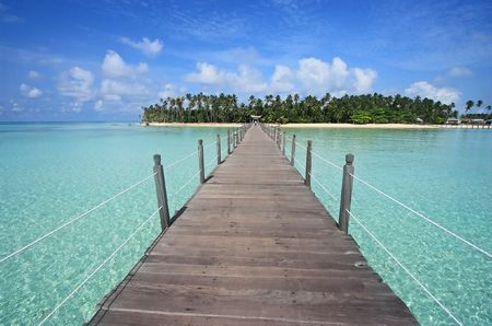 Mabul Island, Sabah, Malaysa. Stock Photo - 511045