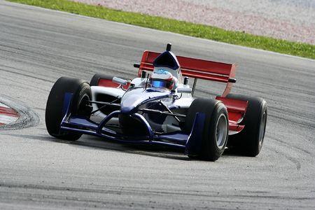 A1 Grand Prix motorsport racing. Stock Photo - 511039