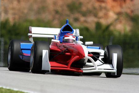 A1 Grand Prix motorsport racing. Stock Photo