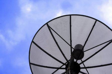 satelite: Satelite dish.