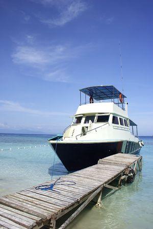 Docking Yacht