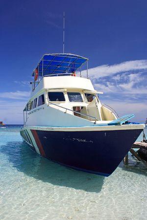 Docking Yacht Stock Photo - 512297