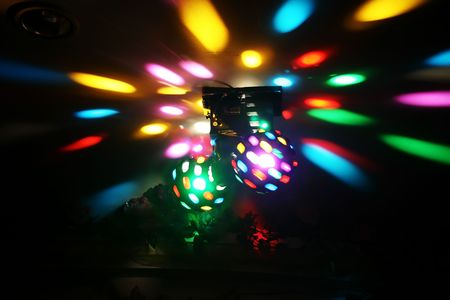Disco Lights close up